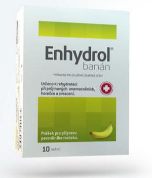 balení rehydratačního roztoku Enhydrol