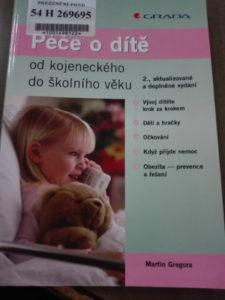ukázka knihy péče o dítě - martin gregor