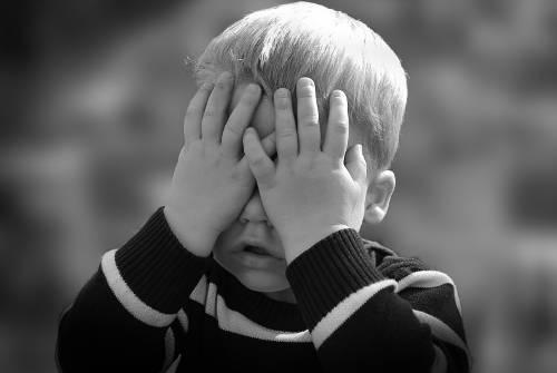 plačící dítě