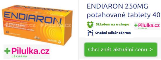 balení léku Endiaron proti průjmu 40 tablet - lékárna pilulka.cz