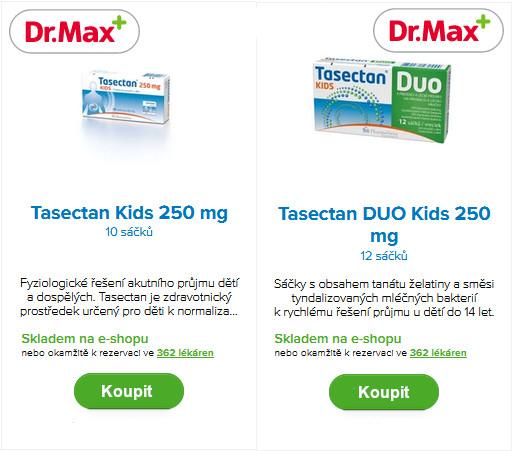 Drmax_tasectan_kids_cena